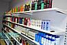 Стеллаж торговый НОВЫЙ с полками WIKO для магазина бытовой химии. Торговое оборудование
