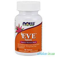 Витамины для женщин NOW EVE (90 таб) женские нау ева