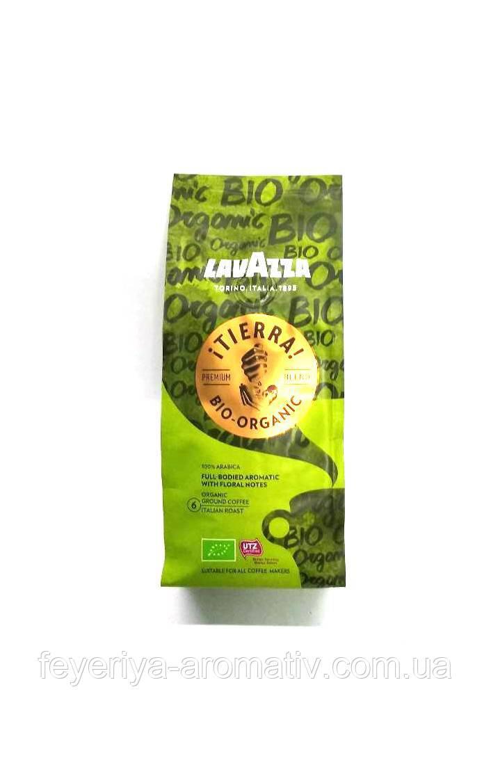 Кофе молотый Lavazza Tierra Bio-Organic 6 с цветочным ароматом 180гр. (Италия)