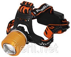 Налобный фонарь  Bailong WD260 T6(12V)