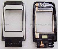 Панель в сборе со стеклом и передней крышкой дисплея Nokia 6125, 0268172 сервисный оригинал