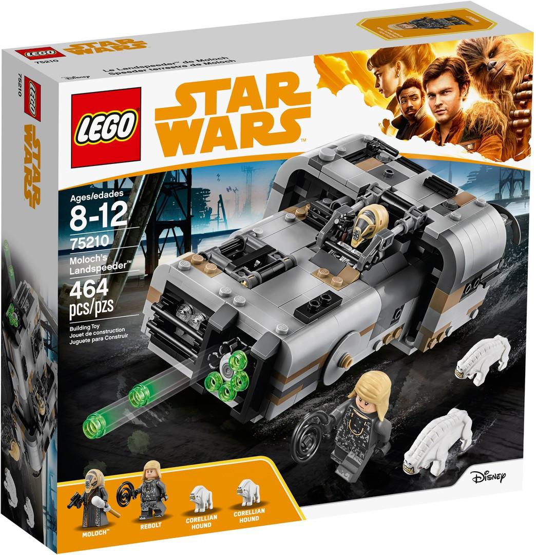Lego Star Wars Спідер Молоха 75210