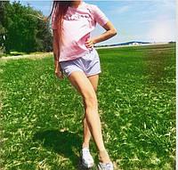 Розовая футболка Balmain