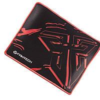 Коврик FANTECH M25 Черный игровой для геймеров точное позиционирование под мышку с игровым покрытием фантеч