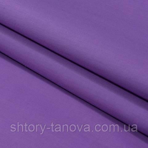 Декоративная ткань для штор, однотонная фиолет