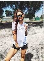 Белая футболка Balmain
