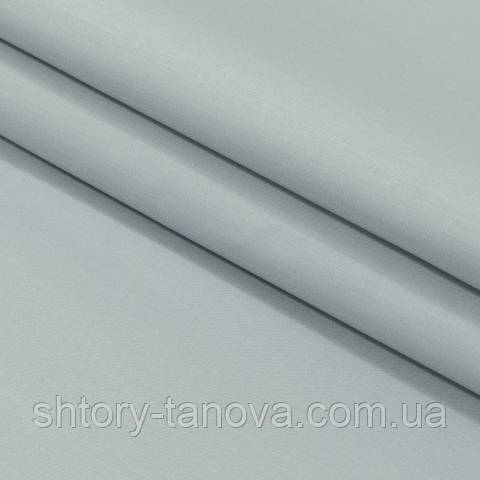 Декоративная ткань для штор, однотонная серый