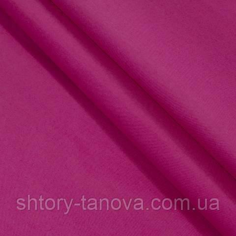 Декоративная ткань для штор, однотонная ярко-розовый