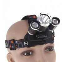 Противоударный налобный фонарик Незаменимый помощник для велосипедистов  Код: КГ5056