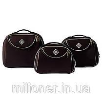 Сумка кейс саквояж Bonro Style (средний) коричневый, фото 2
