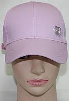Кепка светло-розовая женская молодежная, фото 1