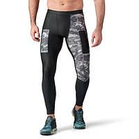 Компрессионные штаны тайтсы (брюки) Рибок и Адидас