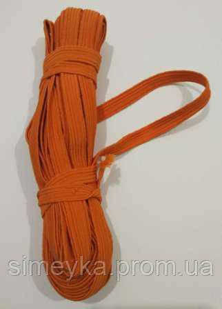 Резинка для шиття, ширина 1 см. Оранжева