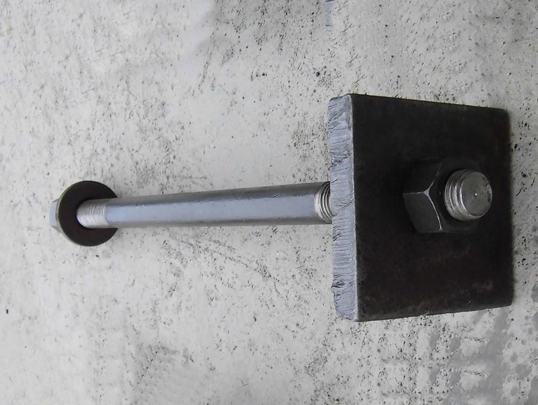 Болт фундаментный М80 по ГОСТ 24379.1-80 тип 2