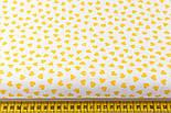 Ткань с желтыми мини сердечками на белом фоне (№ 834), фото 2