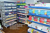 Стеллаж с полками WIKO. Стеллаж для магазина бытовой химии и товаров гигиены. Торговое оборудование магазинов