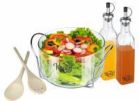 Набор для приготовления салата 6 предметов 29-199-009 тм Krauff