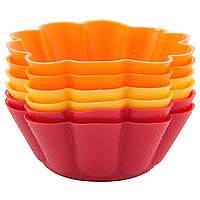 Набор форм для выпечки кексов Dainty 6,5x6,5x3 см, 6 шт 26-184-033 тм Krauff
