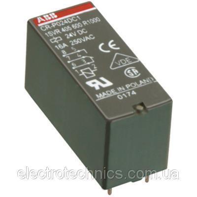 Цокольное реле ABB CR-U024DC3L - 1SVR405622R1100