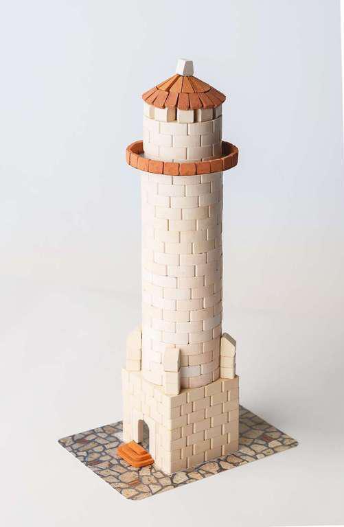 """Маяк - міні-конструктор  з керамічних цеглинок серії """"Старе місто"""""""
