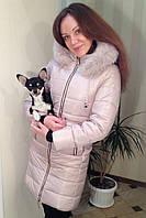 Женская зимняя куртка Сиона с мехом, фото 1