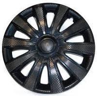 Колпаки колес Карат Черный Радиус R13 (4шт) Star