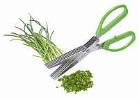 Ножницы для зелени с зубцами