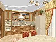 Дизайн интерьера кухонь, столовых