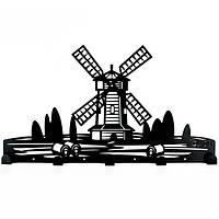 Вешалка настенная Windmill (металлическая)