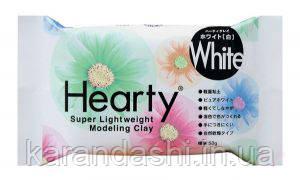 Пластика самозатвердевающая Hearty Белая 50г
