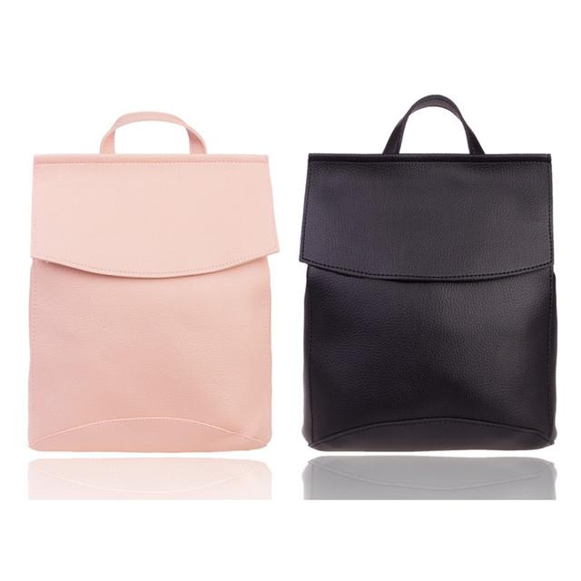 Женские рюкзаки из эко-кожи, ткани