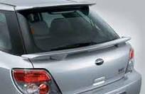Спойлер задний крышки багажника аксессуар Subaru Impreza 03-06 Оригинал (E7210FE800NN)