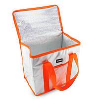 Термосумка холодильник, Sannea Cooler Bag (68791), изотермическая сумка - оранжевая, доставка по Украине
