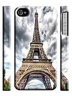 Чехол  для iPhone 4/4s Париж. Эйфелева башня