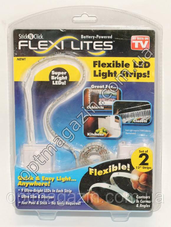 Гнучка Led стрічка підсвічування Flexi Lites Stick (Лід стрічка)