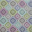 Декоративная ткань для штор с принтом мультиколор, фото 2