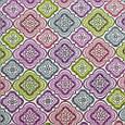 Декоративная ткань для штор с принтом яркий мультиколор, фото 2