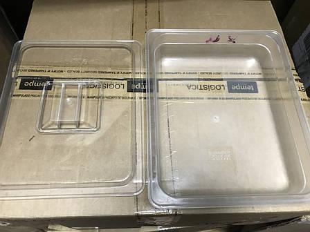 Пластиковая крышка GN 1/1 для гастрономической ёмкости 530*325мм, фото 2