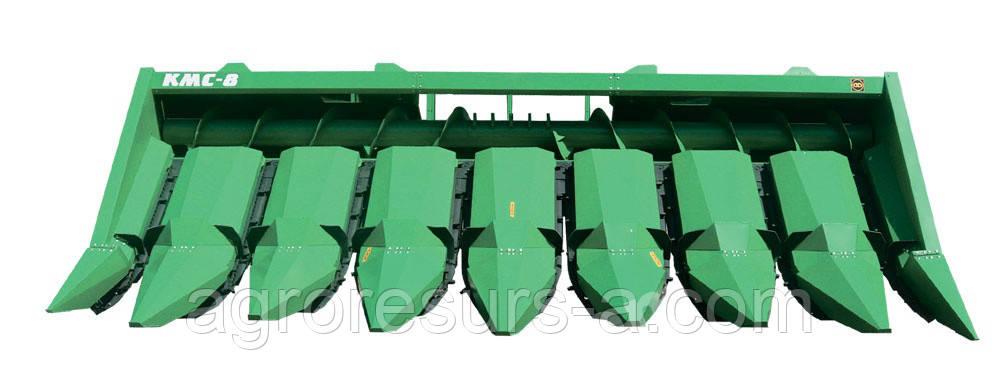 КМС - 8 жатка для уборки кукурузы