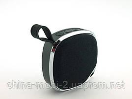 JBL C5 3W LED копія, портативна колонка c MP3 Bluetooth FM і ліхтариком, чорна, фото 3