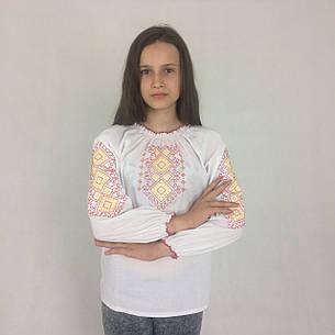 Вышиванка для девочек подростков 7-13 лет Орнамент, фото 2