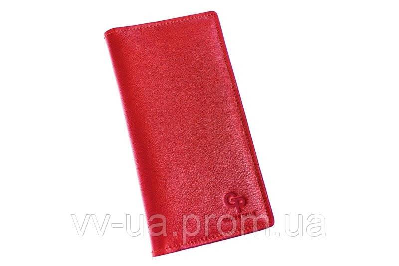 Портмоне-визитница Grande Pelle, красный, кожаный (522660)