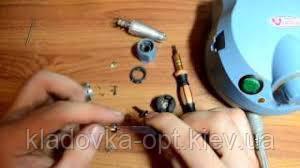 Замена щёток фрезеров для маникюра и педикюра