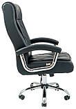 Офисное кресло для руководителя Richman Телави черного цвета, фото 3