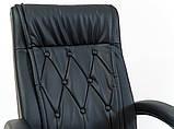 Офисное кресло для руководителя Richman Телави черного цвета, фото 4