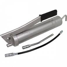 Шприц для смазки (тавотница) PREMIUM со шлангом и трубкой Miol 78-039