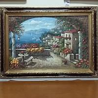 Картина масло на полотні в рамі, фото 1