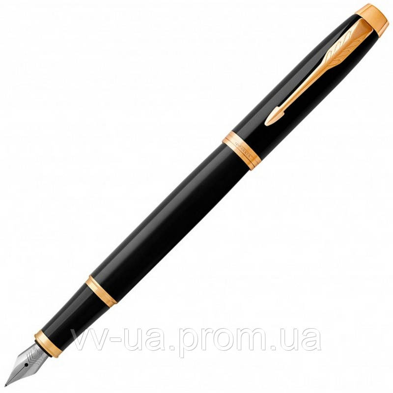 Ручка перьевая Parker IM 17 Black GT FP F (22 011)