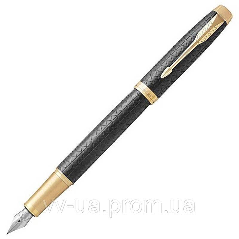 Ручка перьевая Parker IM 17 Premium Black GT FP F (24 011)