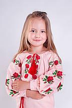 Платье вышиванка для девочки Розочка, фото 3
